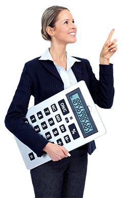 250px business woman with calculator shutterstock_93347512