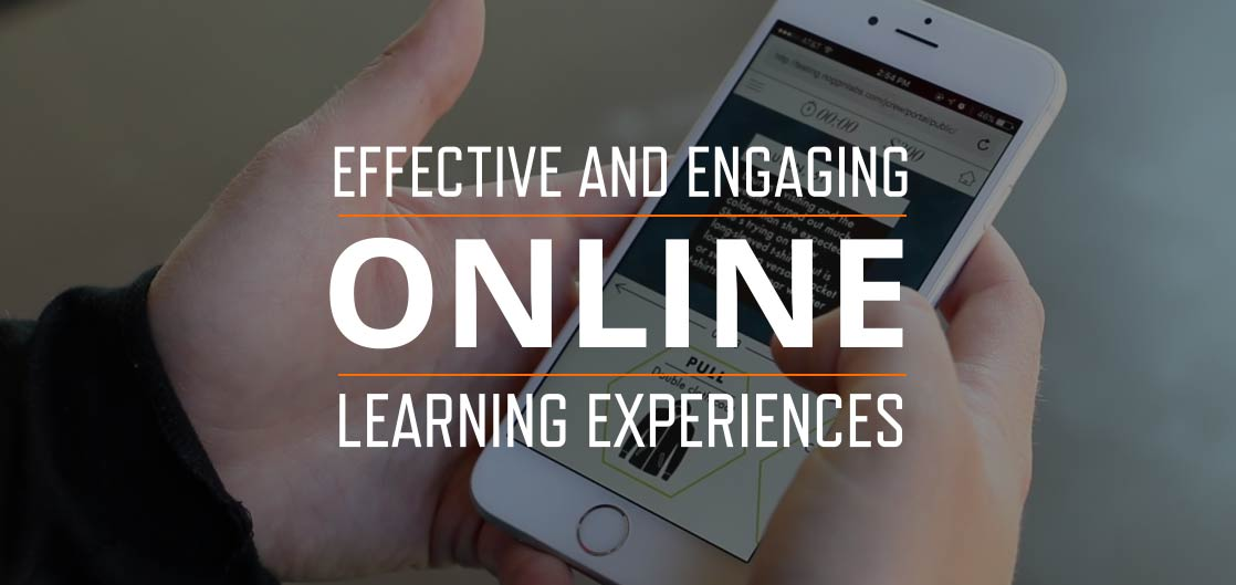 Effective and Engaging Online Learning Experiences