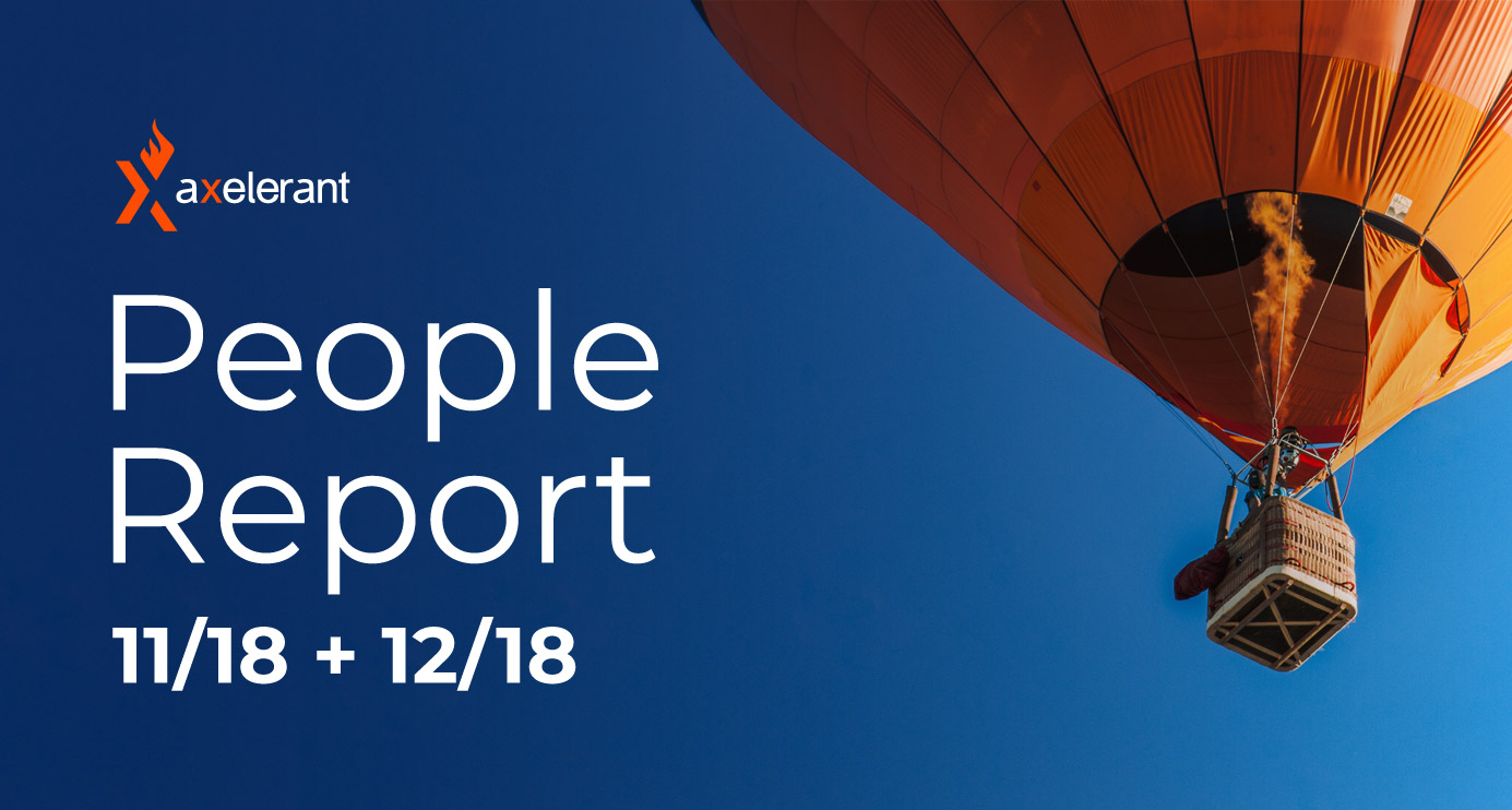 Axelerant People Report: November & December 2018