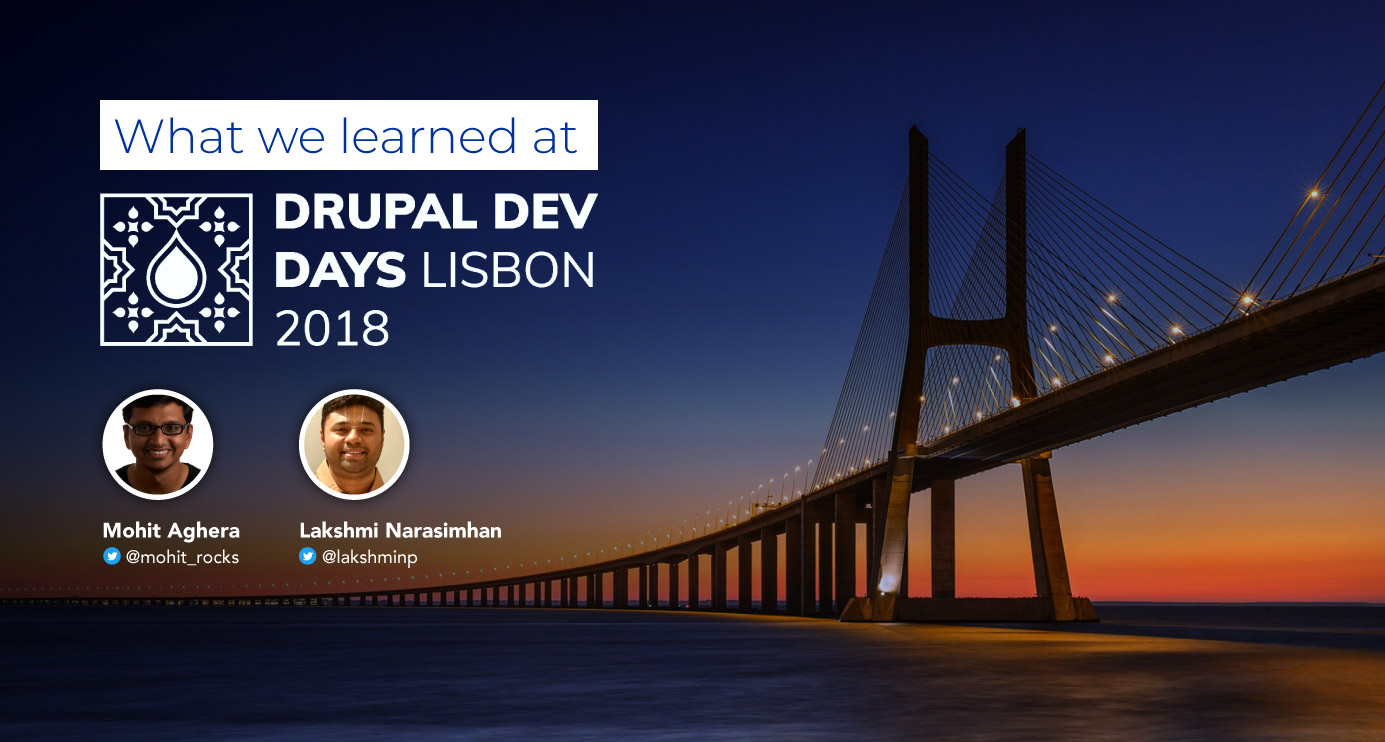 Drupal Dev Days Lisbon 2018: Retrospectives