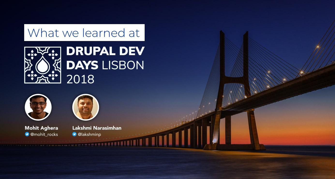 Drupal Dev Days Lisbon 2018: Retrospectives
