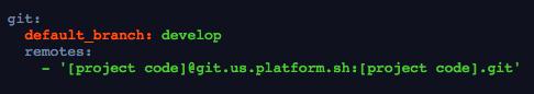 Platform.sh-Project-Code