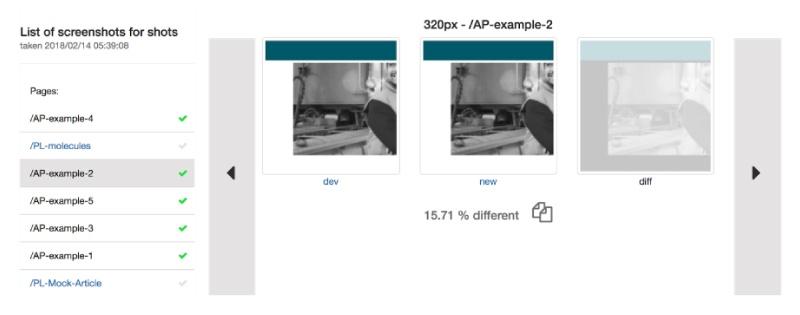 1 Visual regression testing using Wraith and CircleCI