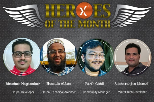 2015 December Heroes of the Month