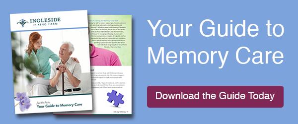 memory care guide