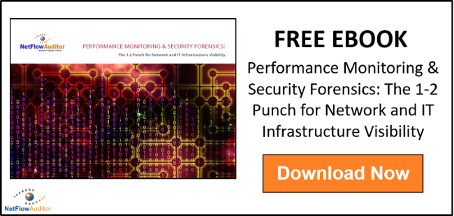 Performance Monitoring & Security Forensics: The 1-2 Punch for Network and IT Infrastructure Visibility