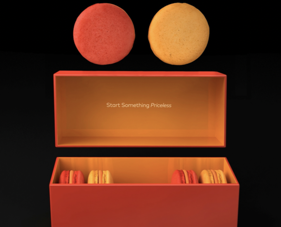Mastercard Macarons