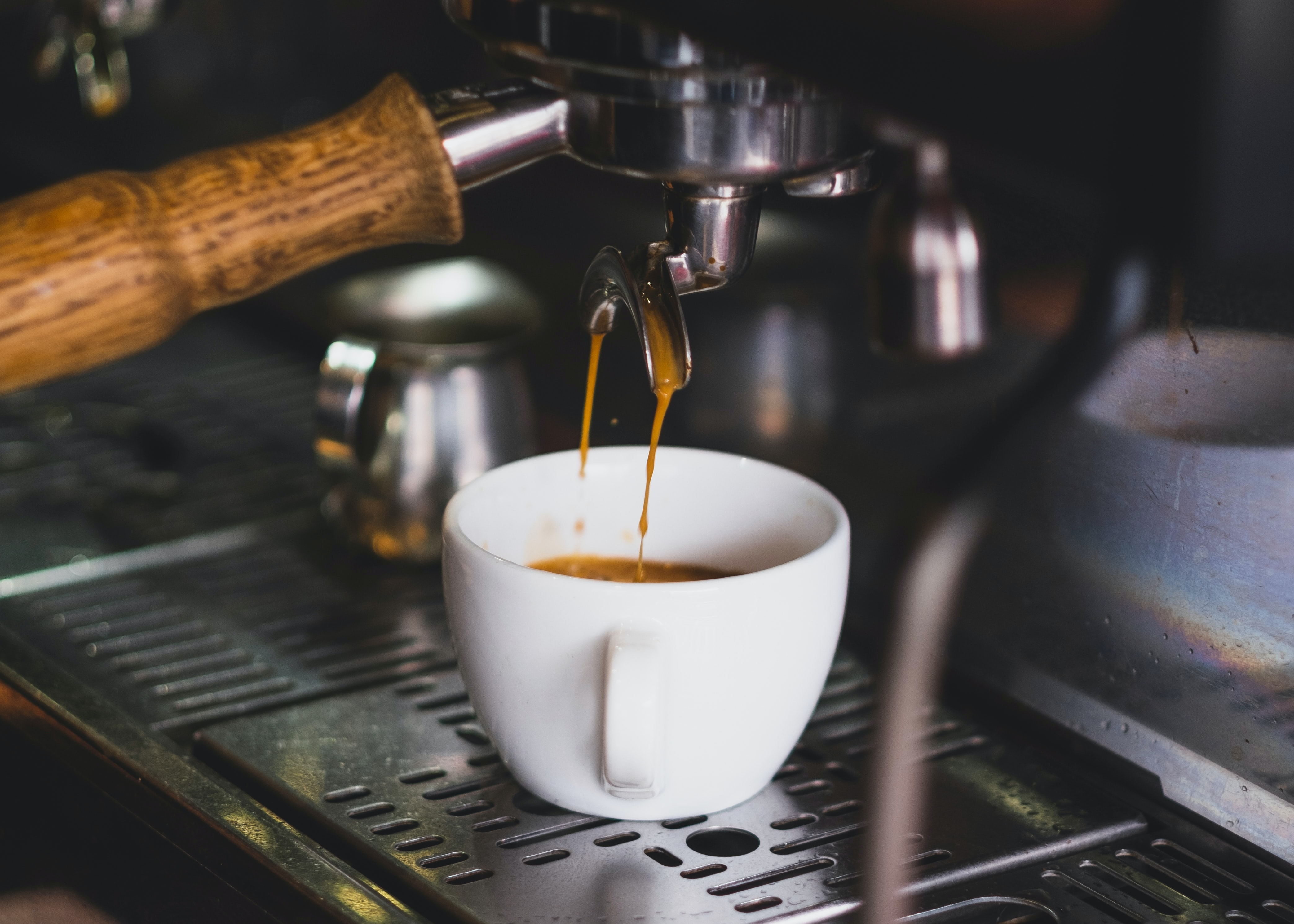 Coffee and espresso machine purchases are on the rise as consumers are forced to stay at home.
