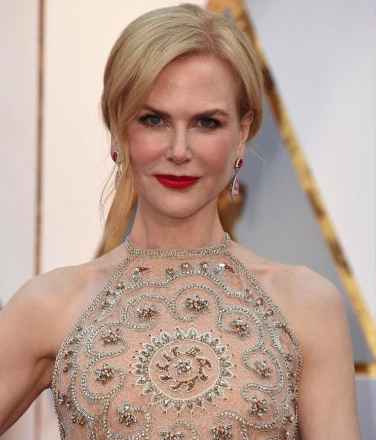 Nicole Kidman Yellow Diamonds