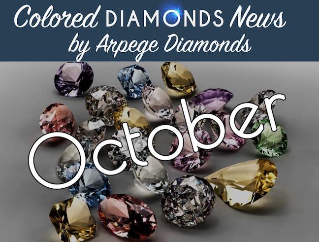 colored diamond news