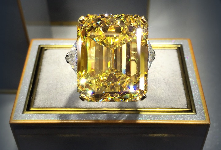 graff yellow diamond