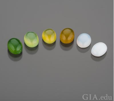 brazilian and white stones gia