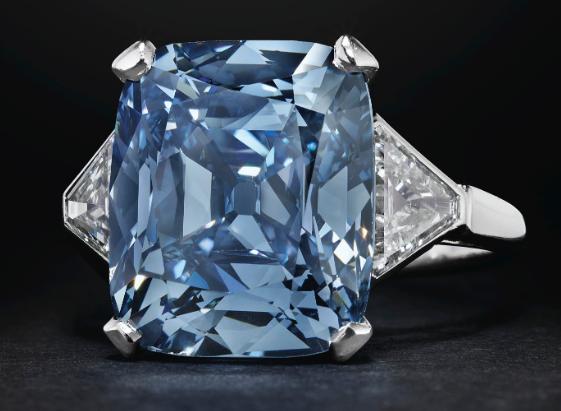 bulgary blue diamond ring christies