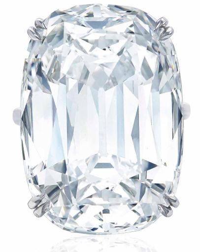 colorless diamond by harry winston - christies
