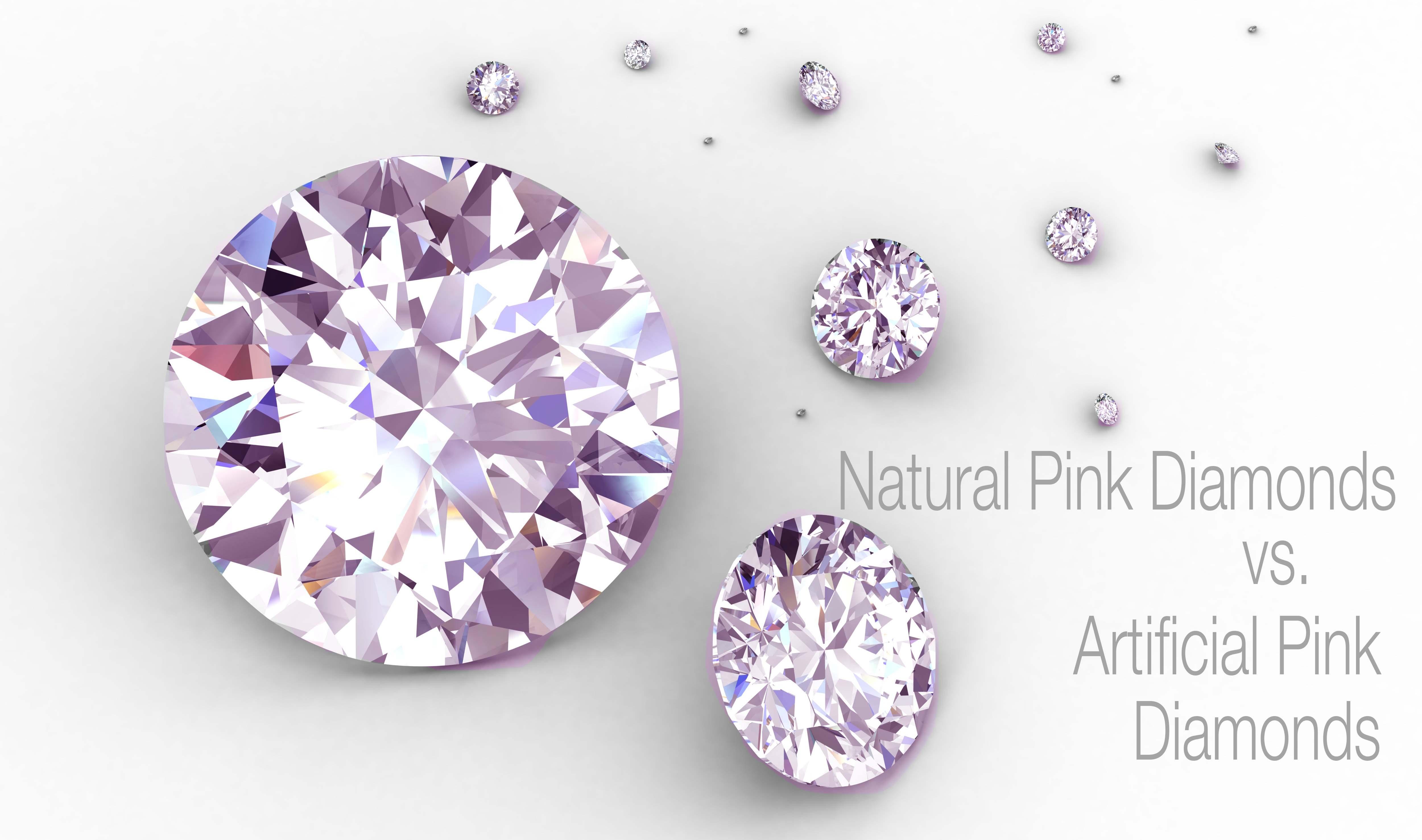 Natural Pink Diamonds Vs Artificially Colored Pink Diamonds