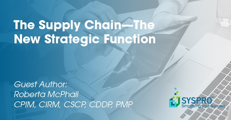 The Supply Chain--The New Strategic Function