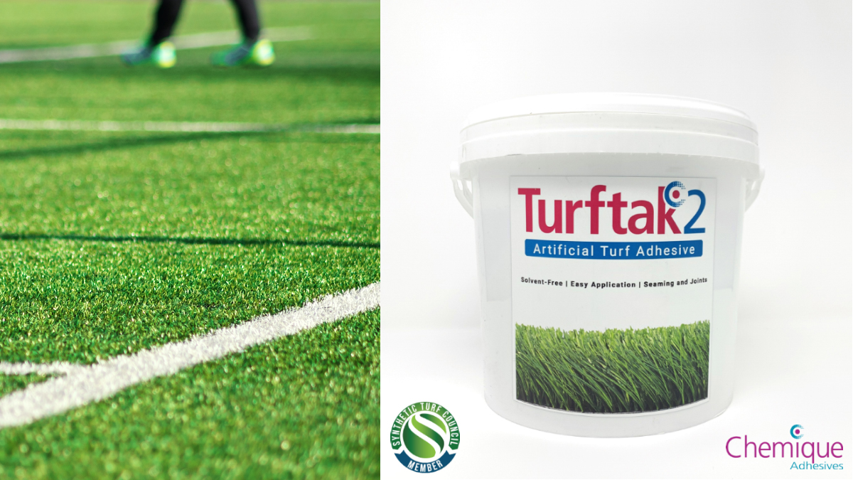 Turftak2_Synthetic Turf Adhesive_Chemique Adhesives_TW-1
