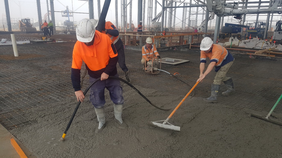 Here's how an electric high frequency concrete vibrator compacts concrete almost two times more effective than standard flex drive vibrators.