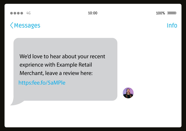 send_feedback_request_via_sms