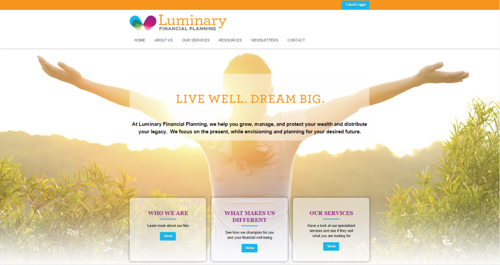 Sitelive Spotlight: Luminary Financial Planning
