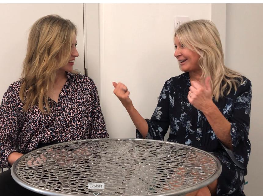 Alice meets Sharon Bennett