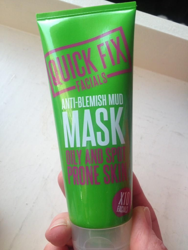 Masks for all concerns: Quick Fix Facials