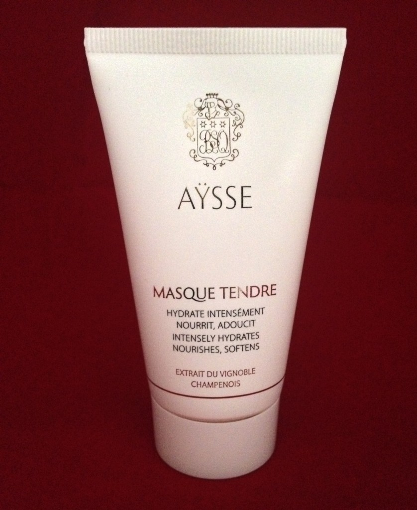 Soothing treat: Aysse face mask