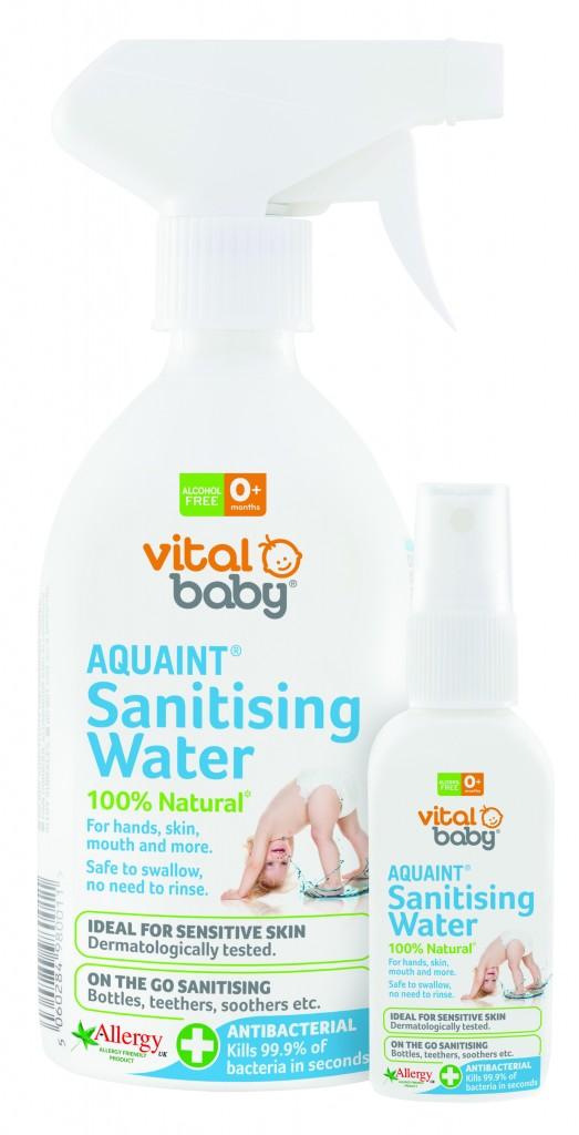 Gentle, sanitising water: Aquaint