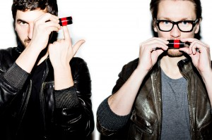 Intense about colour: Christian and James