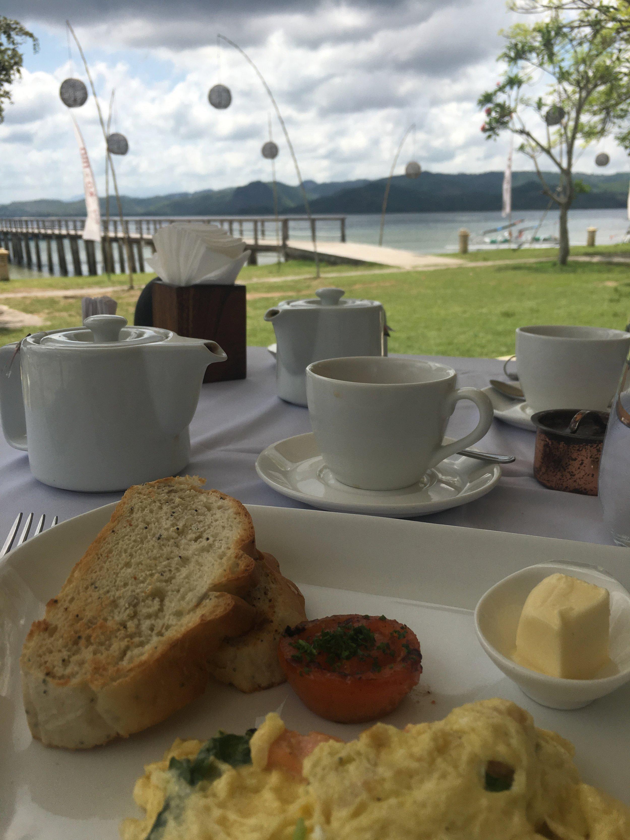 Breakfast view at Kokomo Gili Gede
