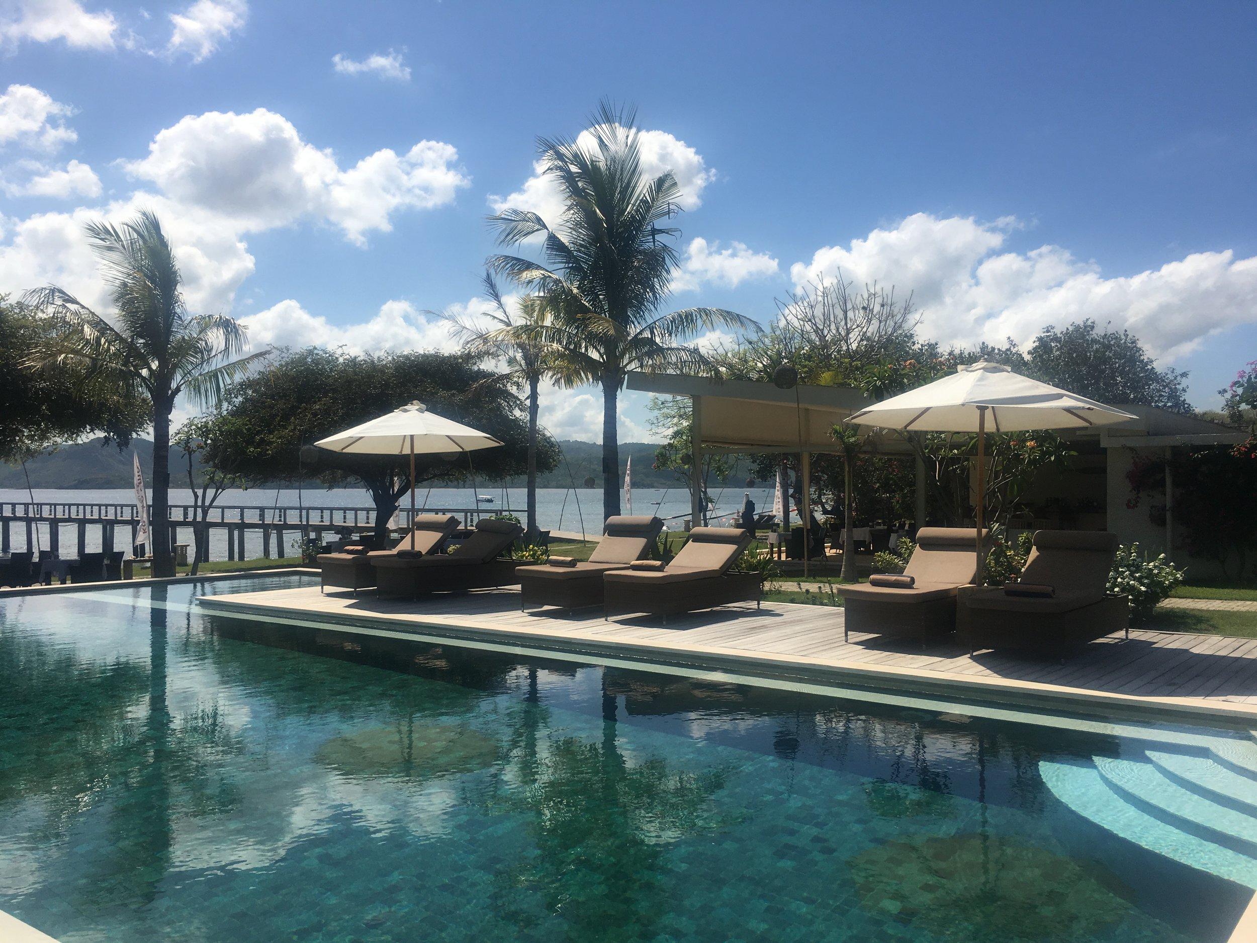 The pool at Kokomo Gili Gede