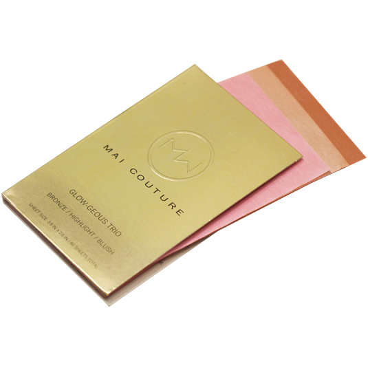 Blush and bronzer paper - a handbag must-have.