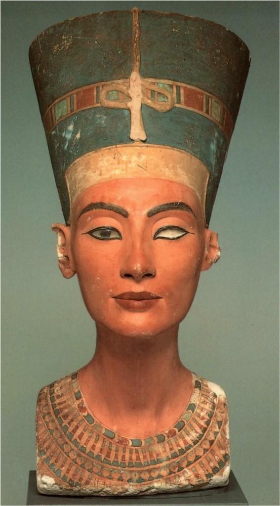 Beauty, past and present: Nefertiti