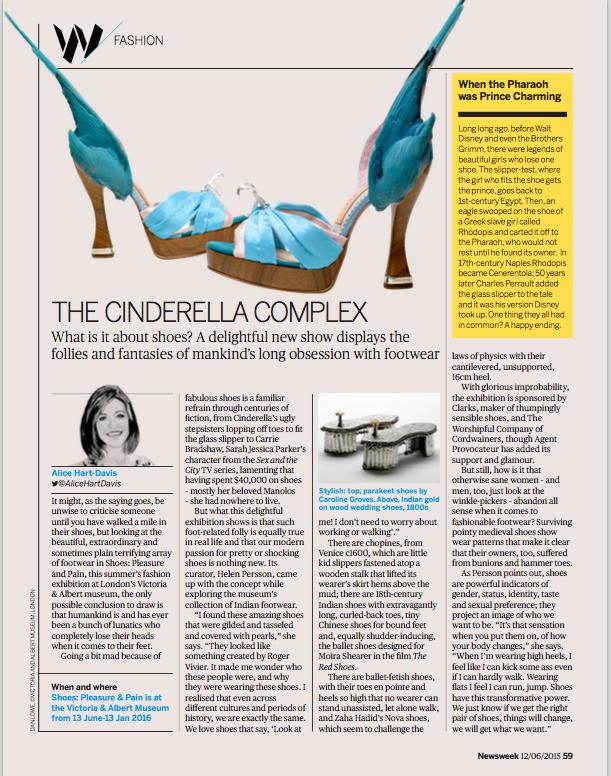 Newsweek V&A shoes June 2015