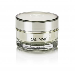 High-tech naturals: Racinne's Youth Power Neck Emulsion