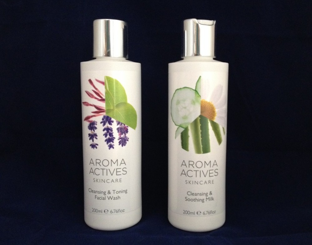 Cleansers at the ready: Aroma Actives