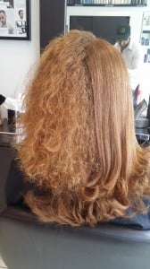 From frizz-to-smooth  - not my hair, but you can see how it works