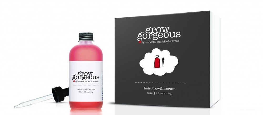 For some serious follicular action: Grow Gorgeous