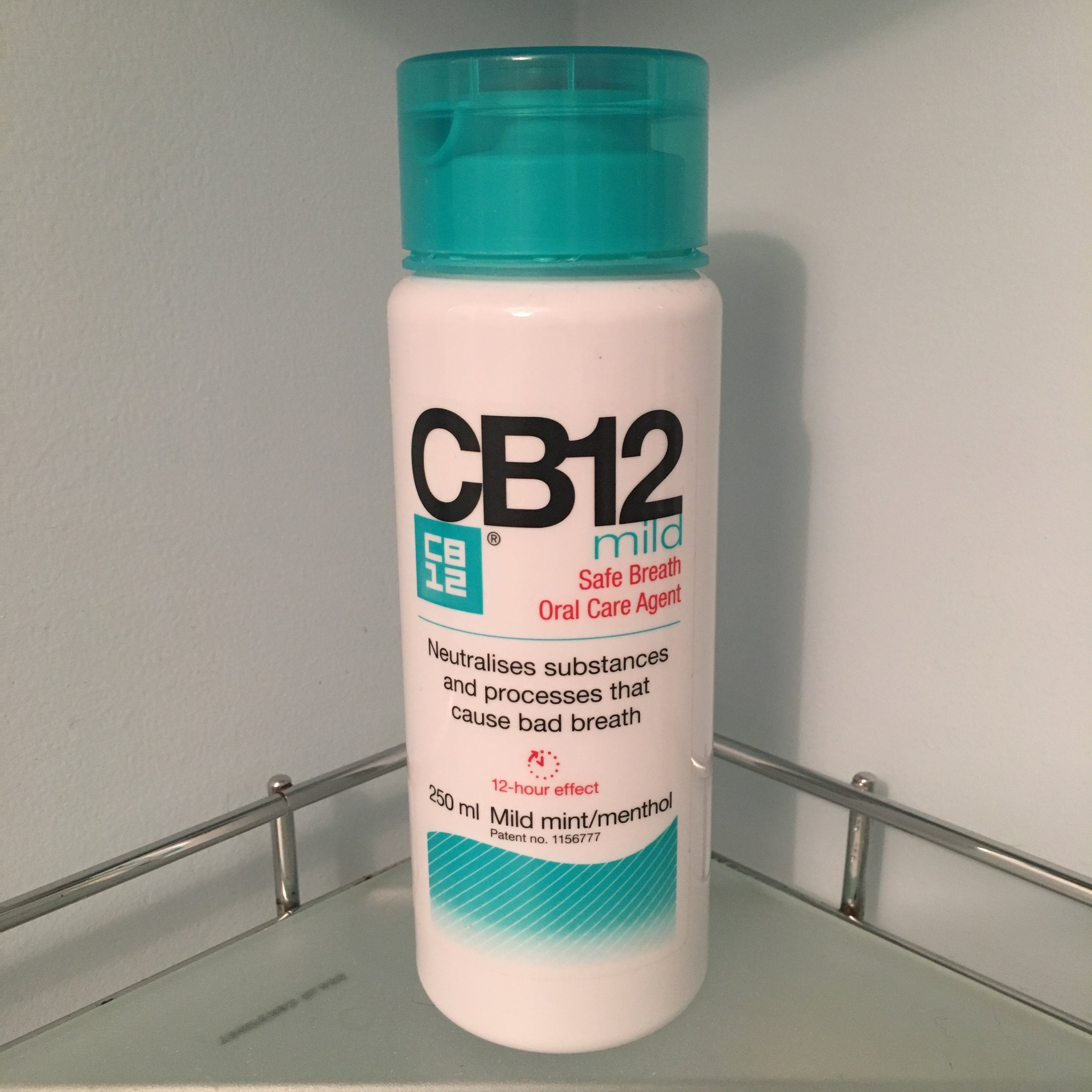 CB12 Mouthwash, the main product in the same range as the gum