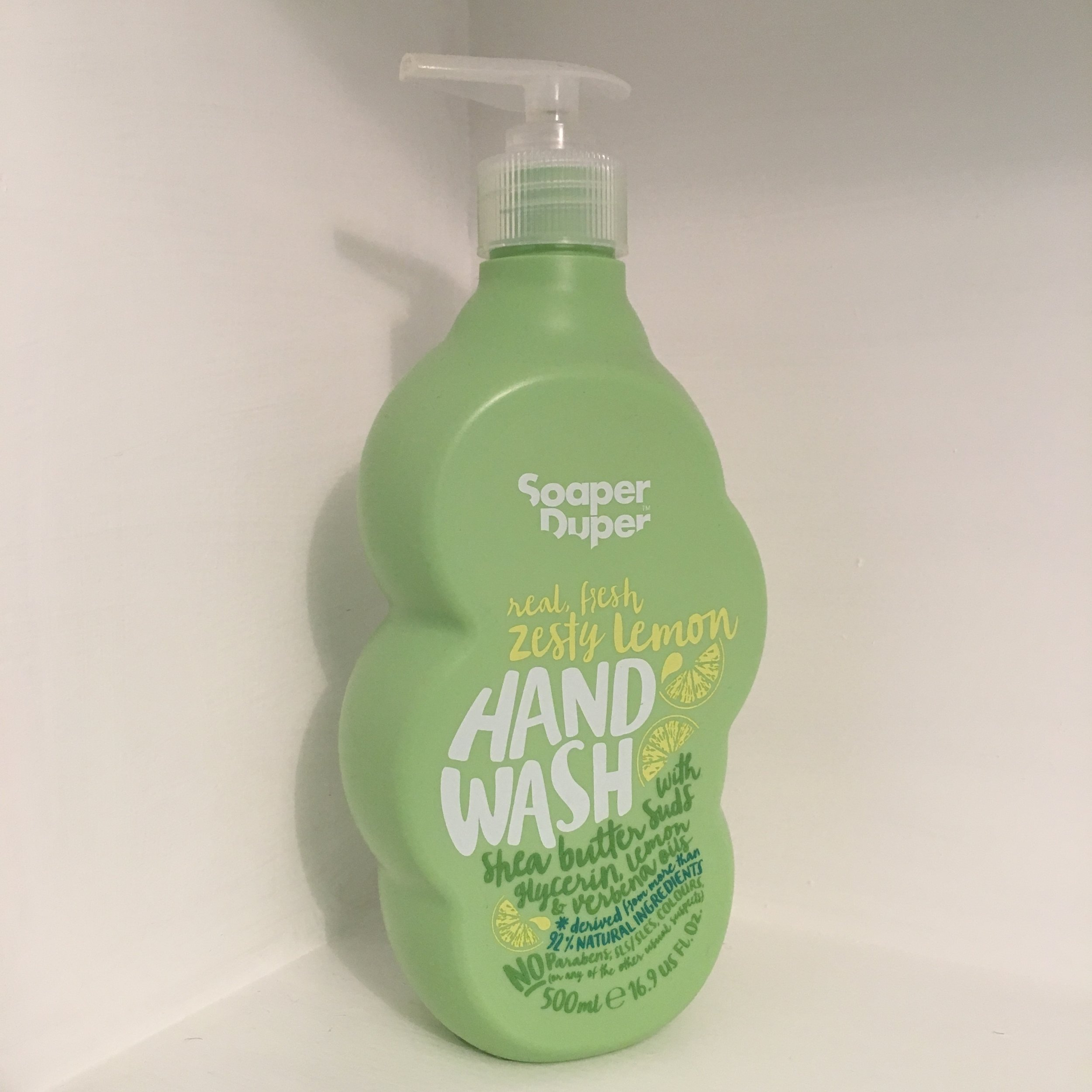 Chunky bottle, funky hand wash: green-and-clean Soaper Duper