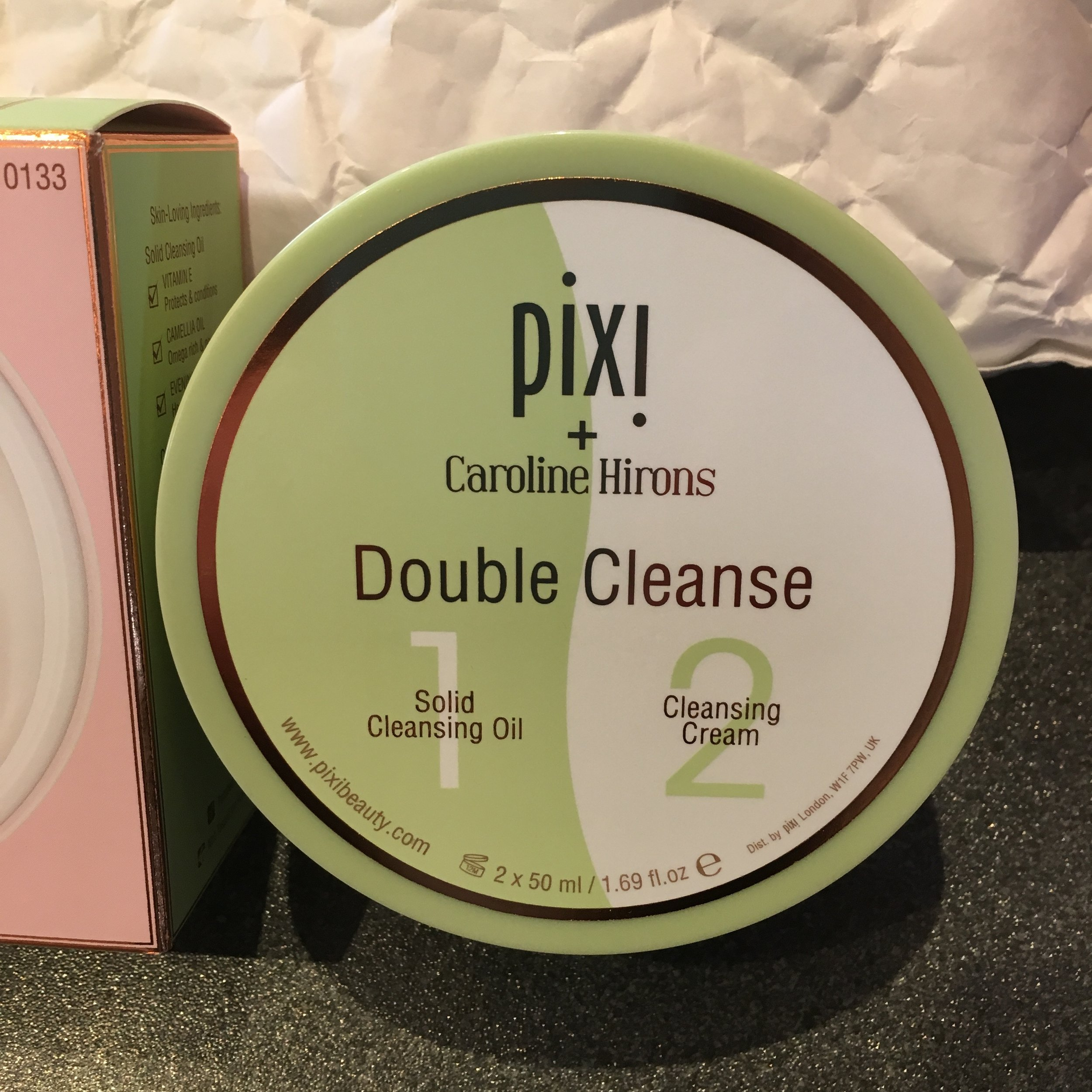 The fabled Caroline Hirons Double Cleanse, from Pixi and la Hirons