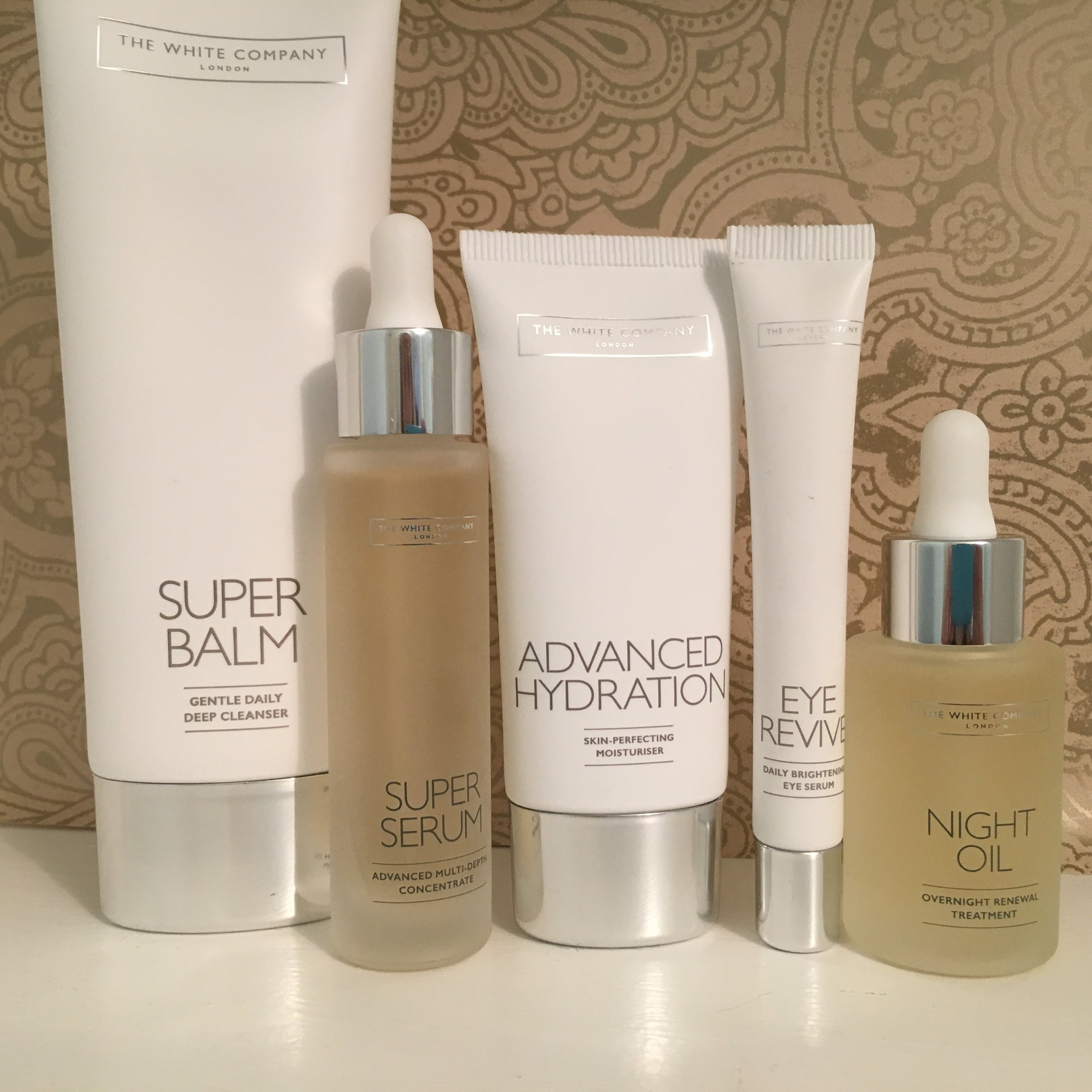 The White Company's new skincare line-up: fast-track products for great skin