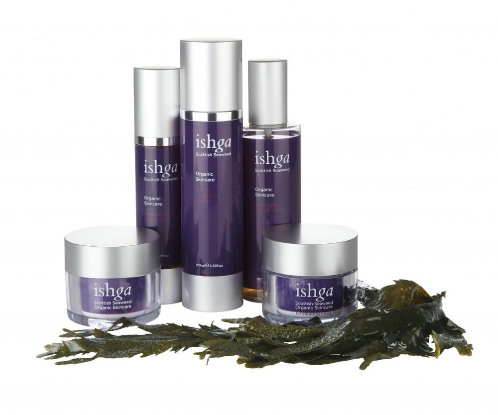 Organic seaweed, organic skincare: Ishga