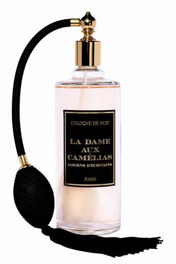 The scent of letters: Jardins d'Ecrivains