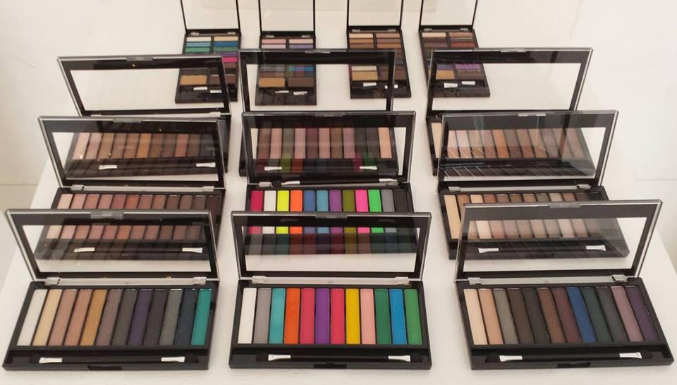 Palettes a-plenty: Make-up  Revolution