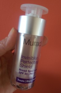 Now you see it... Murad's Invisiblur Perfecting Shield
