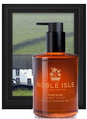 Fireside candle: Noble Isle