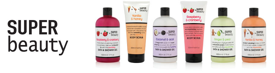 With superfoods for beautification: Super Beauty