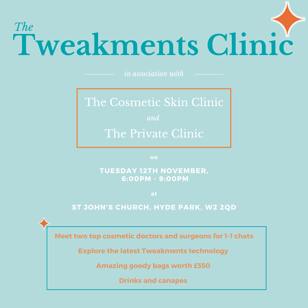 Tweakments Clinic Square Flyer
