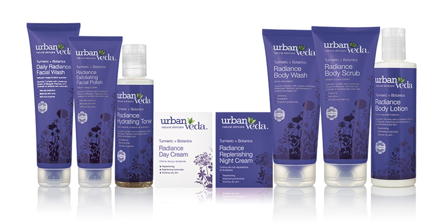 Urban Veda range of products